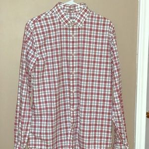 "EXPRESS ""Fitted"" long sleeve dress shirt"